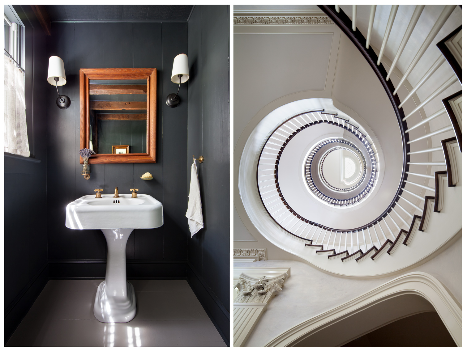 Shawn Henderson Bathroom, Peter Pennoyer Stair