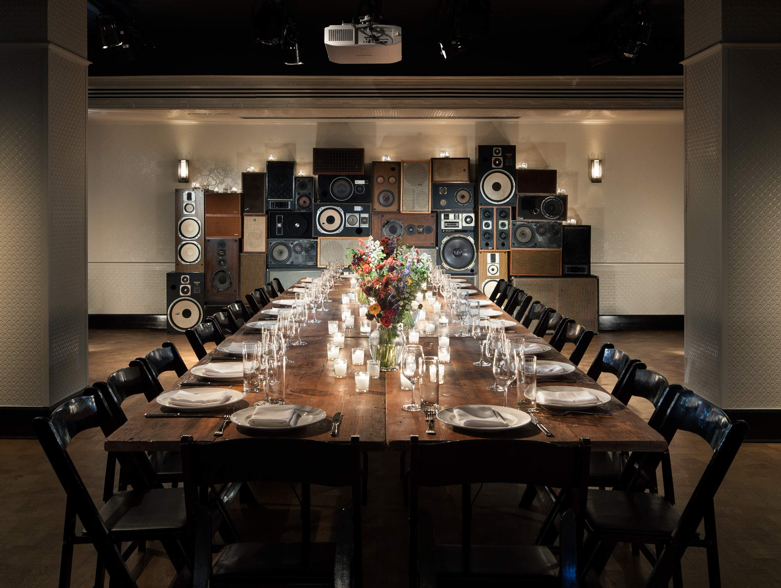 Large Private Dining Event Space at Hall In the Ace Hotel New York