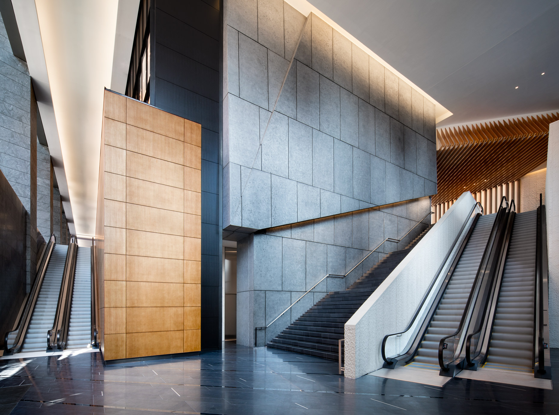 Lobby of 10 Hudson Yards