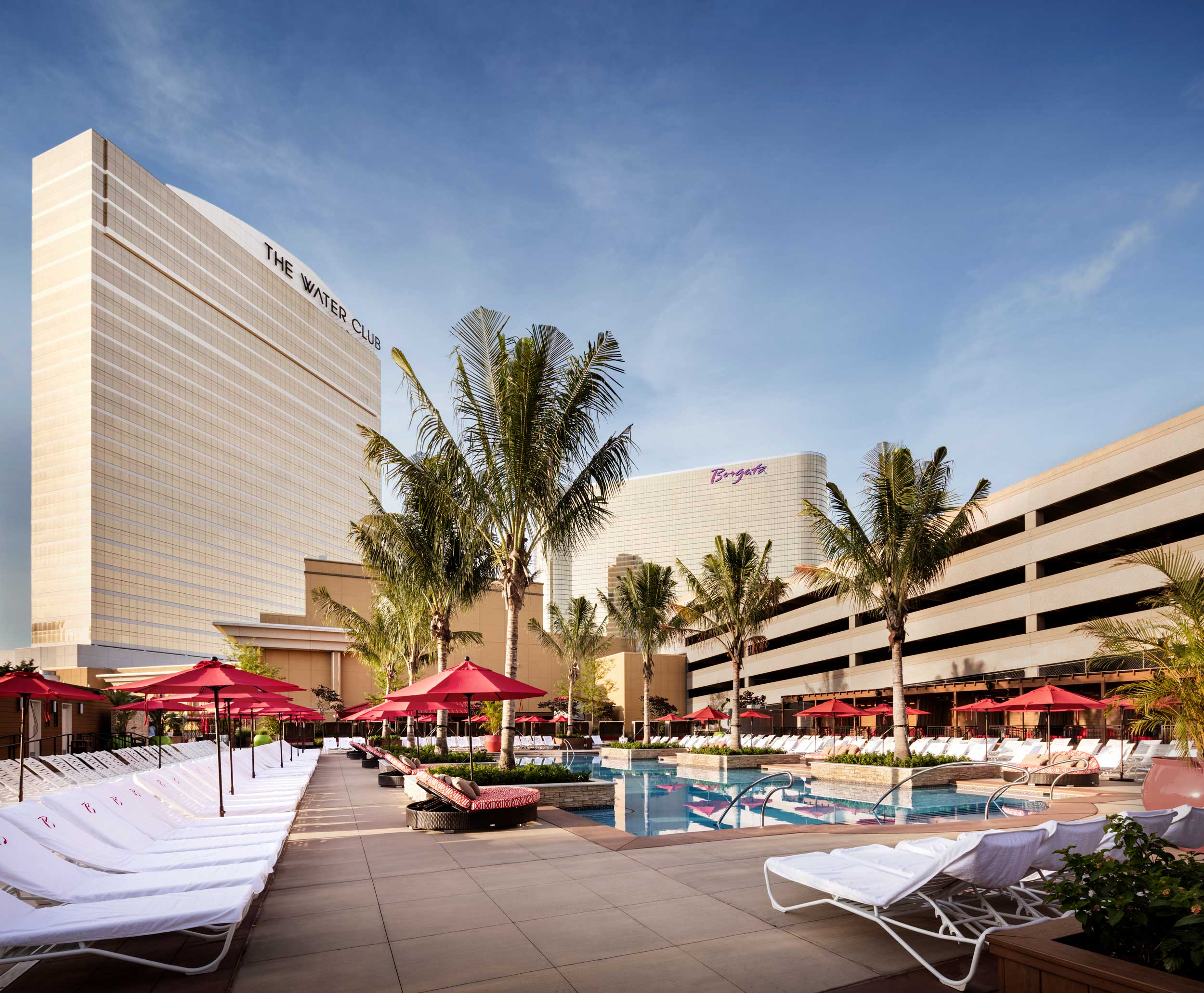 Water Club and Borgata Pool Exterior Photo