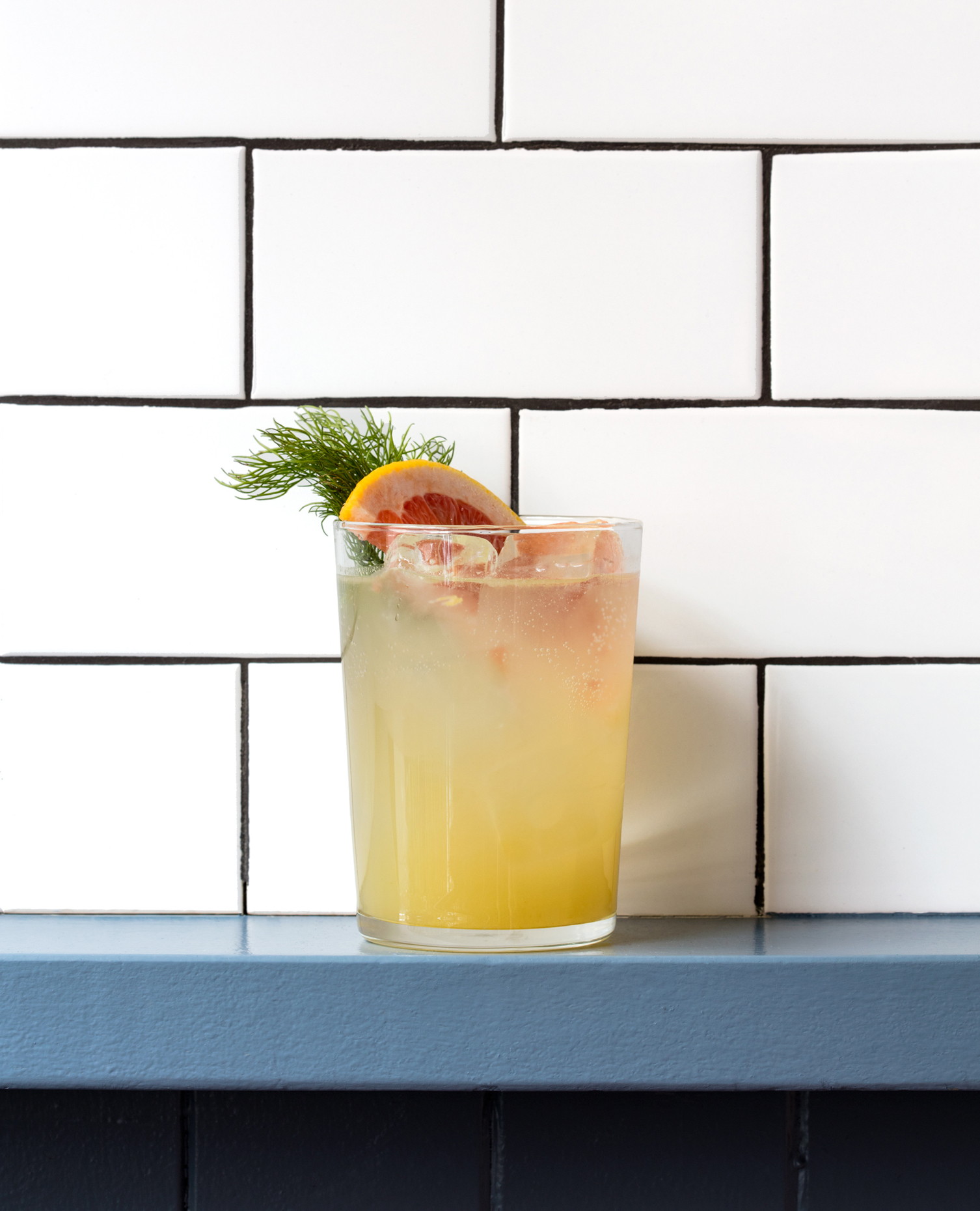 Fennel Grapefruit Spritz