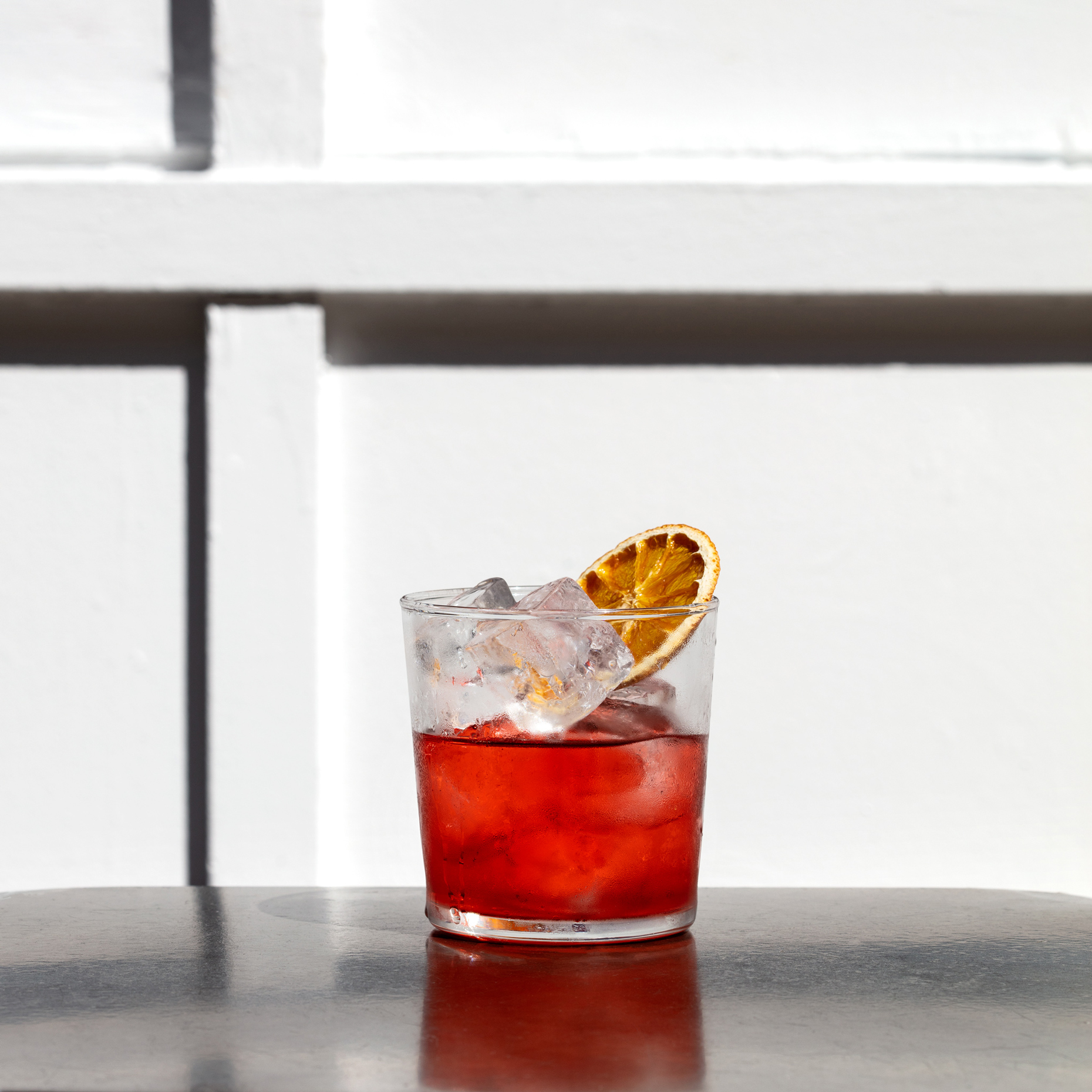 The Fat Radish Barrel Aged Negroni With Fords Gin